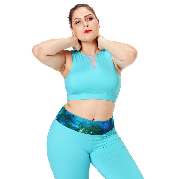 Edna Plus Size Workout Tank Top