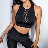 Rosie Solid Fitness Clothing Set