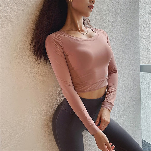 Eula Fitness Crop Top