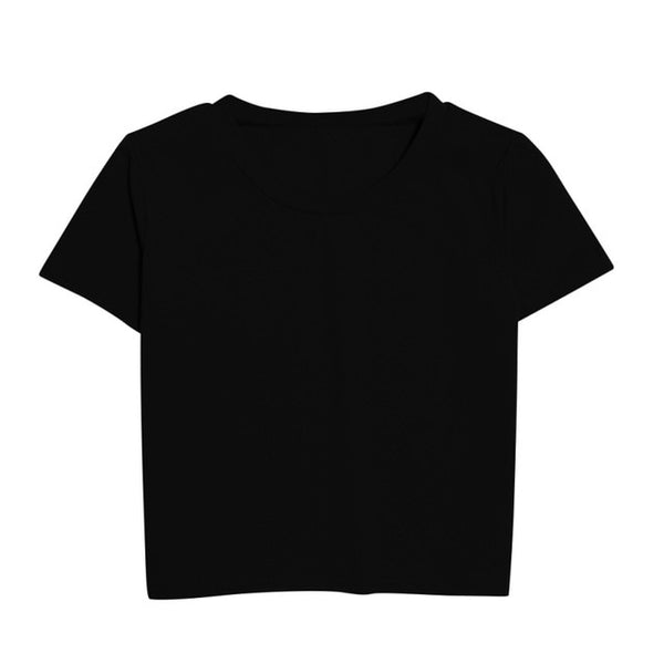 Nina Short Sleeve Cropped T-shirt