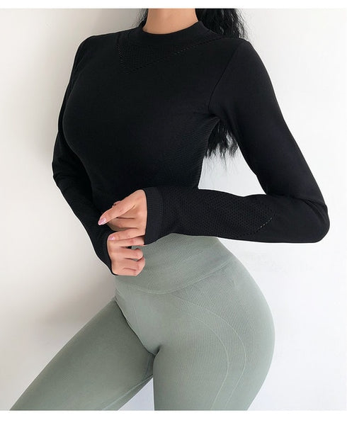 Rachel Long Sleeve Fitness Top