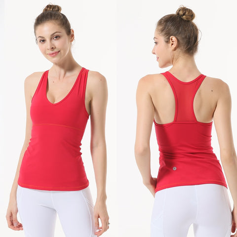 Y-Back Fitness Tank Top