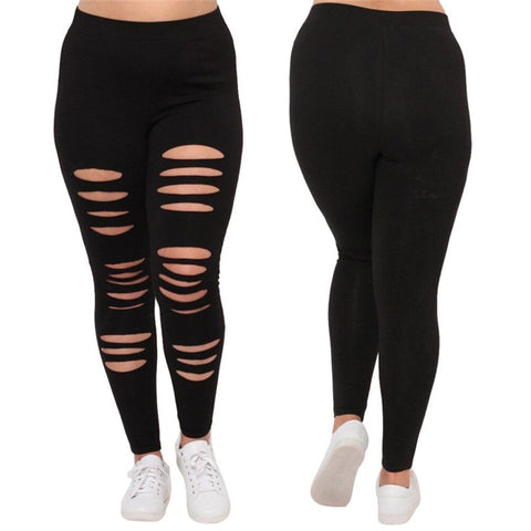 Velma Black Breathable Leggings