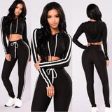 Fannie Two Piece Sports Tracksuit