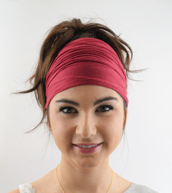 Wide Sweat Absorbing Headband - Mrym Active Wear