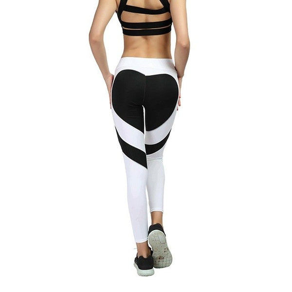 Heart Shape Fitness Leggings - Mrym Active Wear