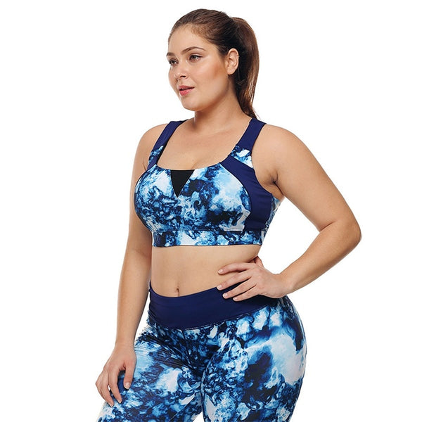Sallie Plus Size Sports Bra