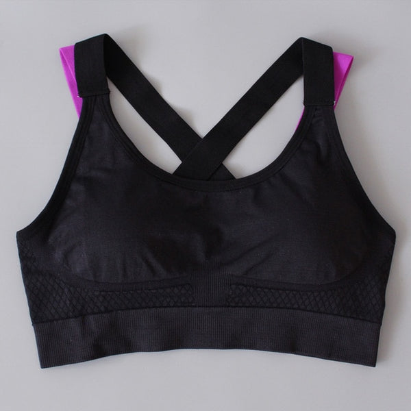 Push Up Running Sports Bra