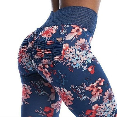 Ann Floral Printed Leggings