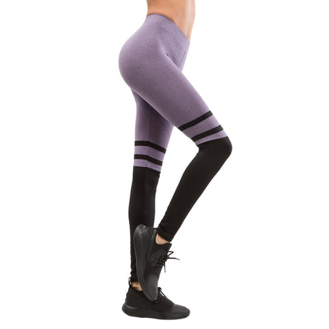 Aurora Striped Fitness Leggings