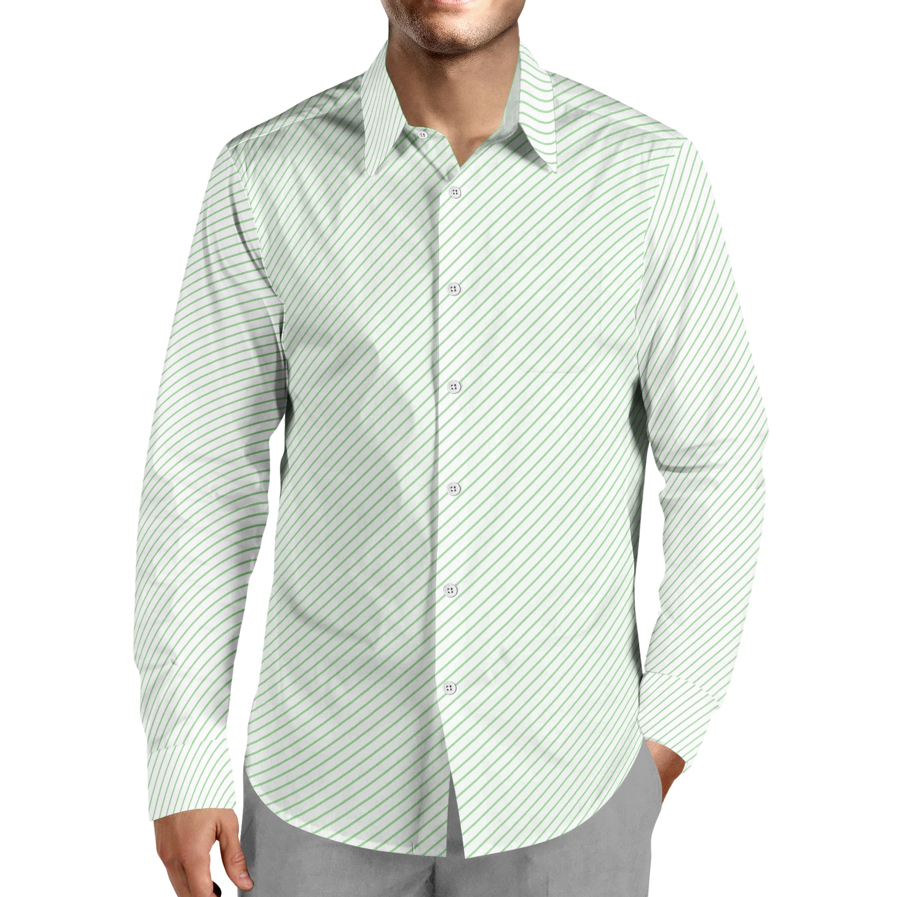 Pin Striped Dress Shirt