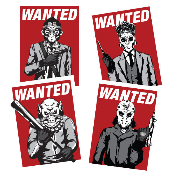 Wanted Sticker Pack