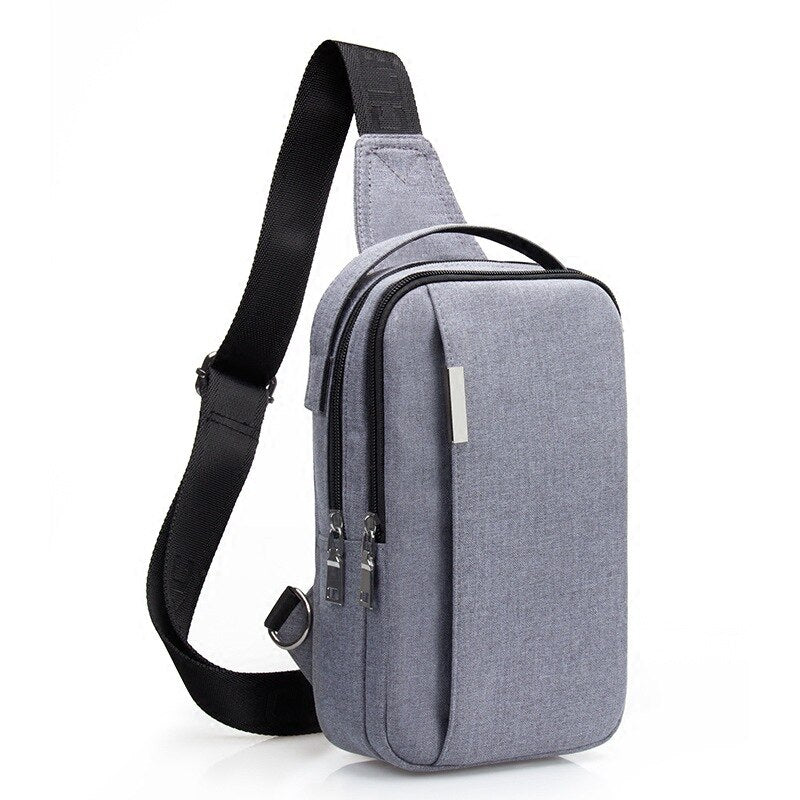 Sidewinder - Uniseks canvas crossbody schoudertas