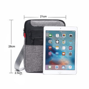 Judgement - Messenger crossbody schoudertas voor IPad of 10 inch tablet