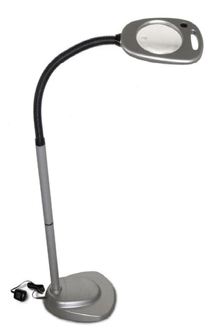 LED Floor Light and Magnifier