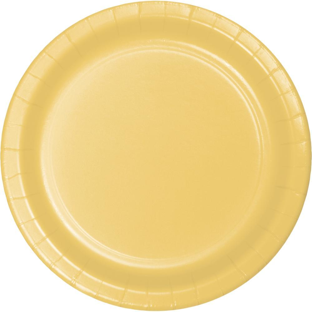 Soft Yellow Themed Tableware
