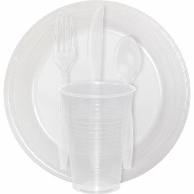 Clear Party Tableware