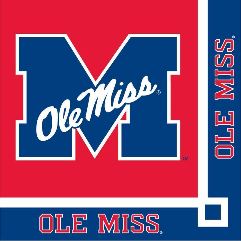 Ole Miss Rebels Party Decorations