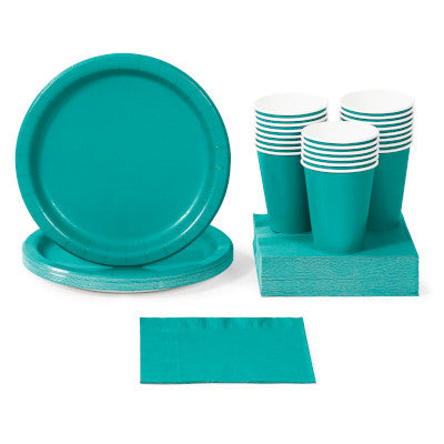 Teal Lagoon Party Tableware