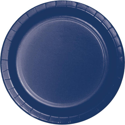 Navy 10Ct Performa Dinner Plate, (10/Pkg) by Creative Converting