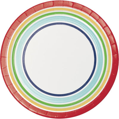 Hip Hip Hooray 10Ct Performa Luncheon Plate (10/Pkg) by Creative Converting