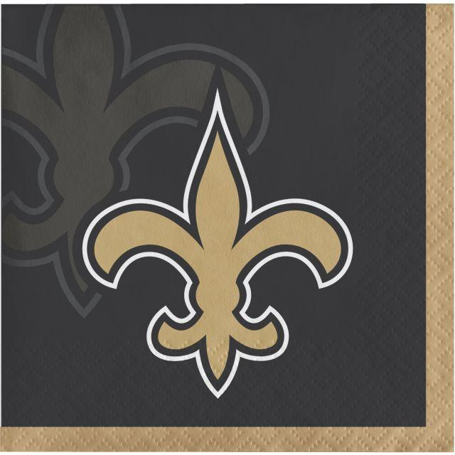 New Orleans Saints Beverage Napkins, 16 ct by Creative Converting