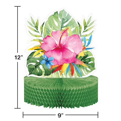 Floral Paradise Honeycomb Centerpiece (1/Pkg) by Creative Converting