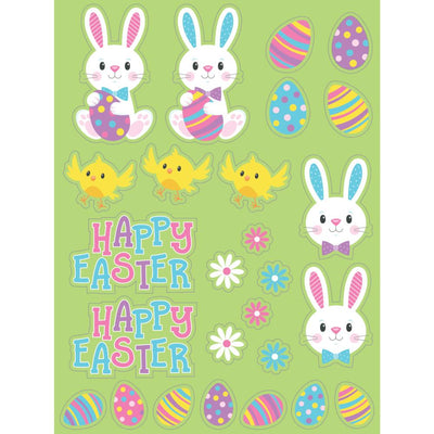 Stickers, Easter Characters (4/Pkg) by Creative Converting