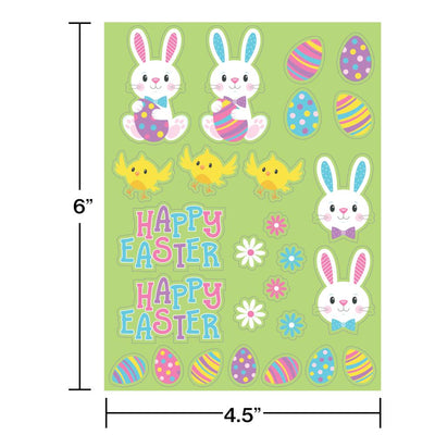 Stickers, Easter Characters (4/Pkg) on sale at PartyDecorations.com