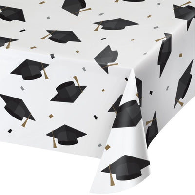 Paper Tablecover Aop 54X102, Grad Toss (1/Pkg) by Creative Converting