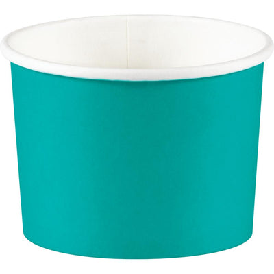 Treat Cups, Teal Lagoon (8/Pkg) by Creative Converting