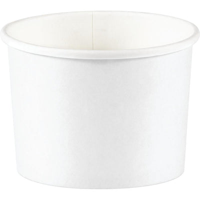 Treat Cups, White (8/Pkg) by Creative Converting