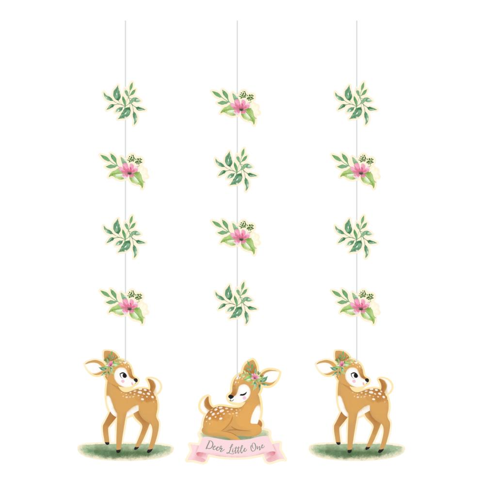 Deer Little One Hanging Cutouts (3/Pkg) by Creative Converting