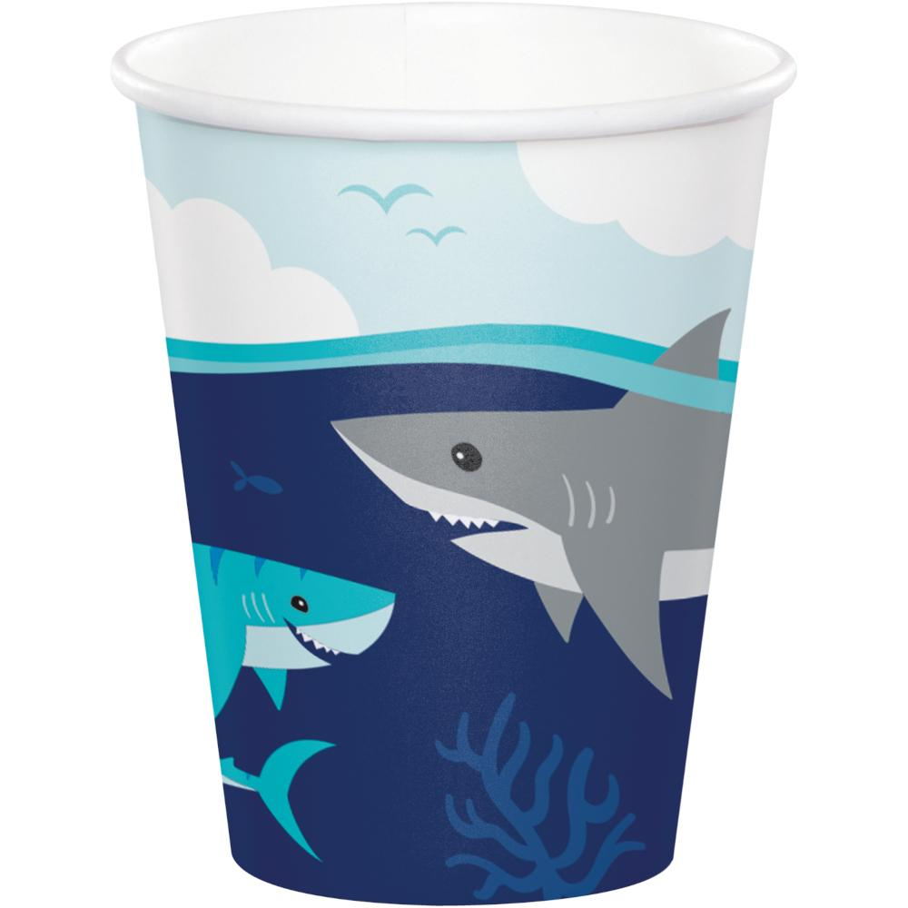 Shark Party Hot/Cold Cup 9Oz. (8/Pkg) by Creative Converting