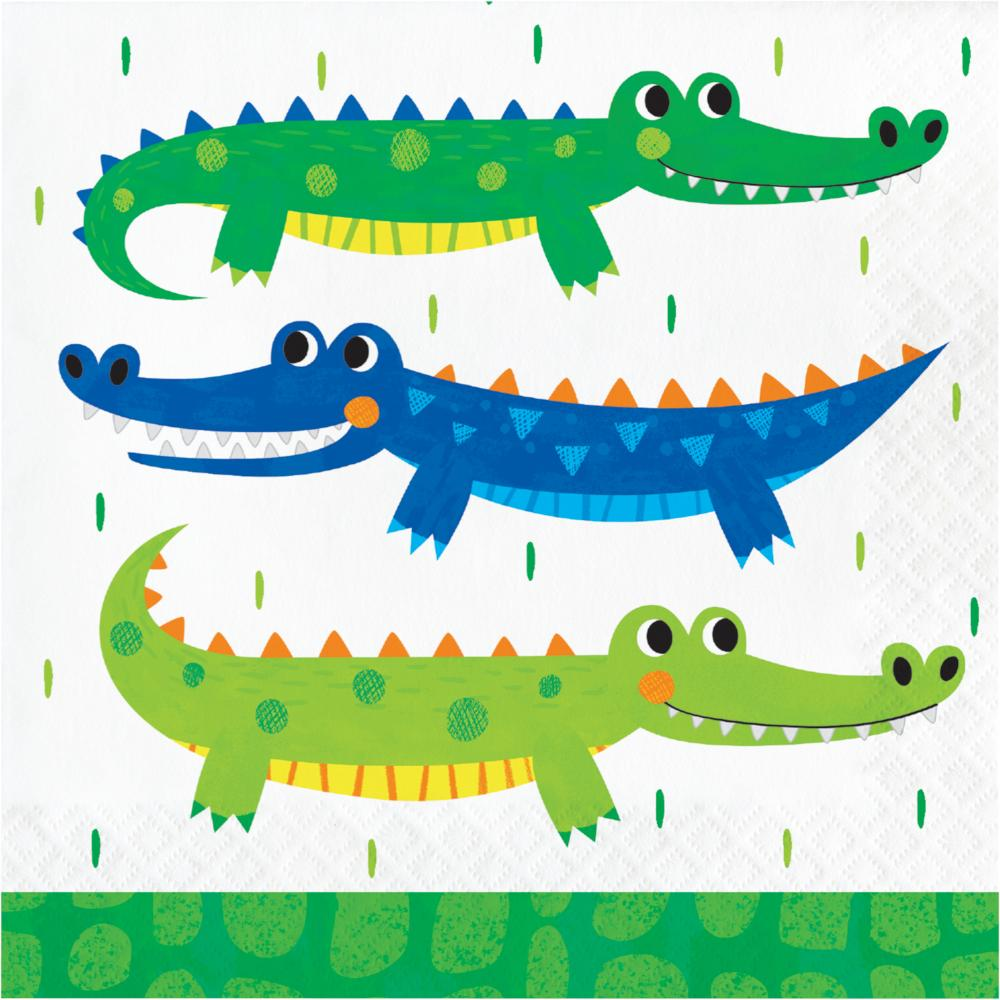 Alligator Party Luncheon Napkin (16/Pkg) by Creative Converting