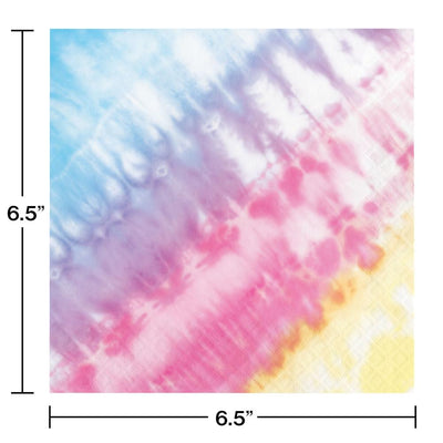 Tie Dye Party Luncheon Napkin (16/Pkg)