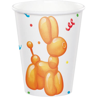 Party Balloon Animals Hot/Cold Cup 9Oz. (8/Pkg) by Creative Converting
