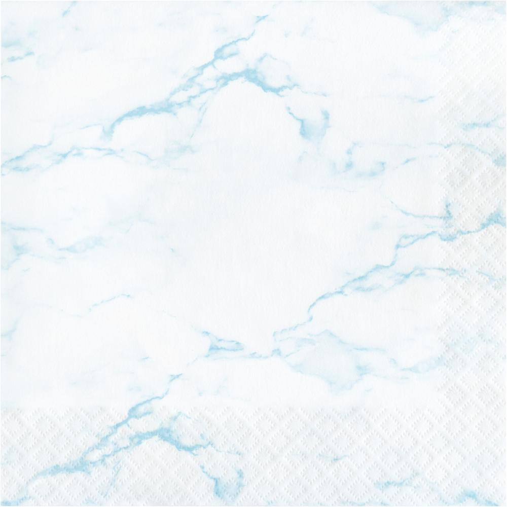 Blue Marble Luncheon Napkin (16/Pkg) by Creative Converting