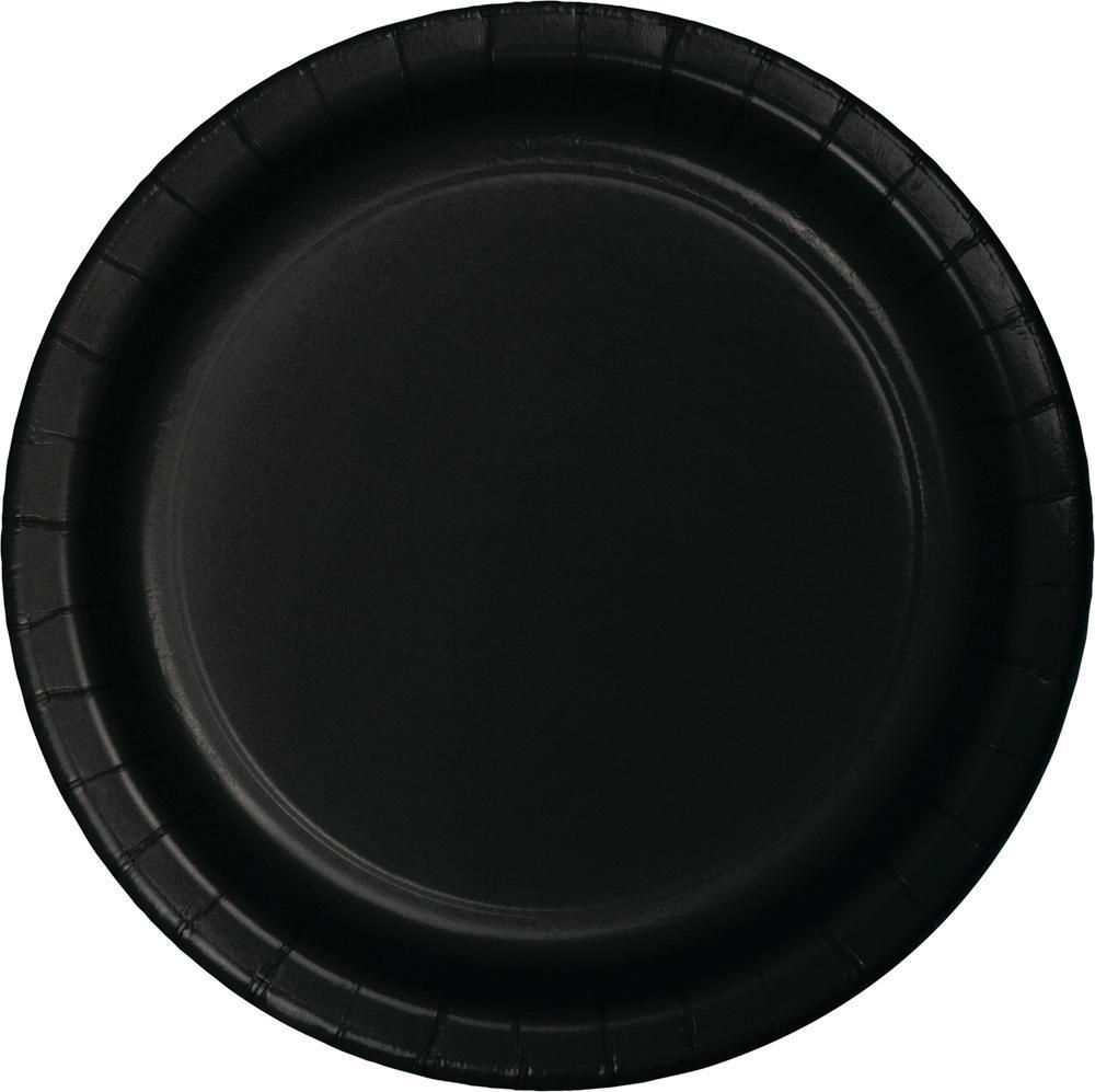 Black Paper Plates, 24 ct by Creative Converting