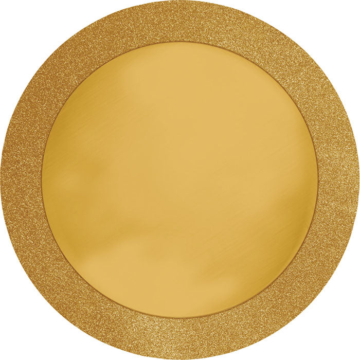 "Glitz Gold Placemats, 14"", 8 ct by Creative Converting"