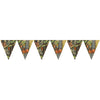 Hunting Camo Plastic Flag Banner by Creative Converting