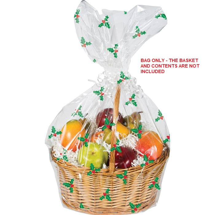 Holly Basket Bag by Creative Converting