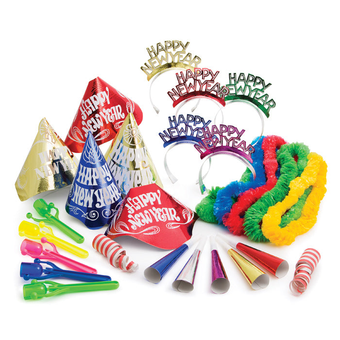 Happy New Year Party Kit For 10 by Creative Converting