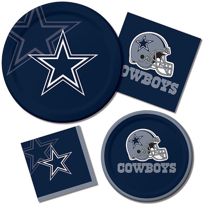 Dallas Cowboys Dessert Plates, 8 ct Party Supplies