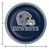 Dallas Cowboys Dessert Plates, 8 ct Party Decoration