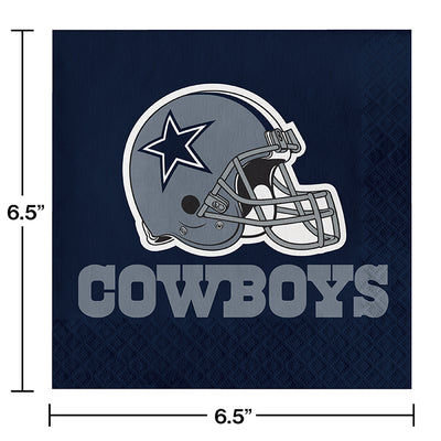 Dallas Cowboys Napkins, 16 ct Party Decoration