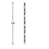 Denver Broncos Paper Straws, 24 ct Party Decoration