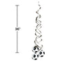Soccer Deluxe Danglers, 2 ct Party Decoration