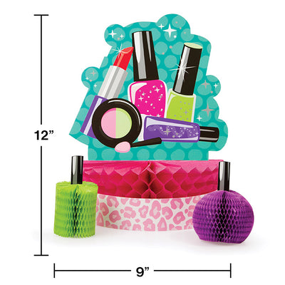 Sparkle Spa Party Centerpiece Set Party Decoration