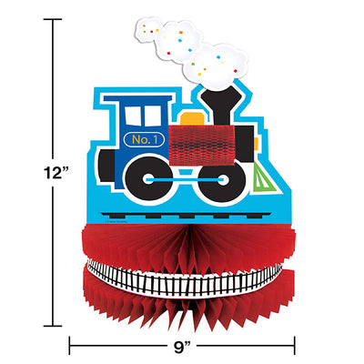 All Aboard Train Centerpiece Party Decoration
